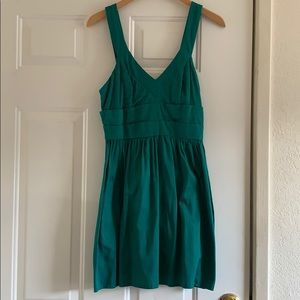 Turquoise dress from Urban Outfitters